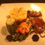  trio of Sussex lamb ... out of this world !